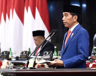 الرئيس جوكو ويدودو متفائل الاقتصاد الإندونيسي سيستمر في النمو