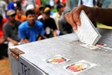 لا يزال يتم التوصل إلى صوت المواطنين الإندونيسيين في الانتخابات الرئاسية 2019 في مناطق الصراع