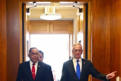 وزير الدفاع: إندونيسيا ملتزمة بالحفاظ على السلام الإقليمي.