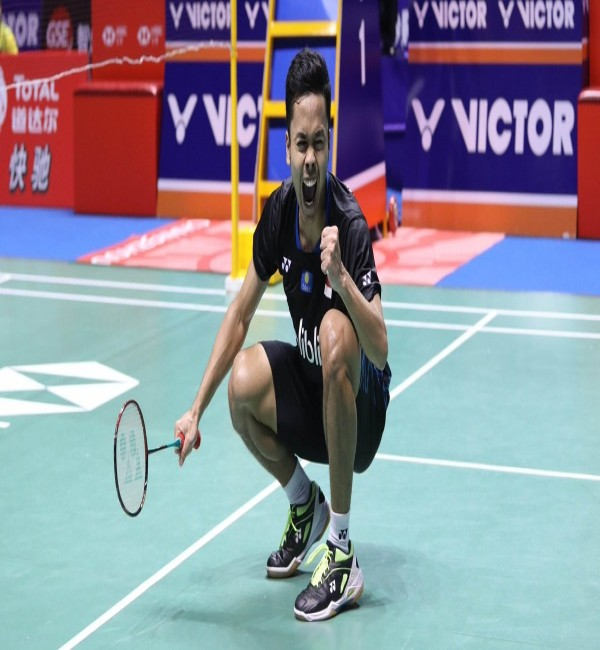 Anthony Ginting Champion of China Open 2018