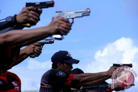 Indonesische Politie won de 3e positie in de Internasional World Police Pistol Shooting Championship.