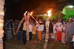 Traditie van Nujuh Likur in Bengkulu