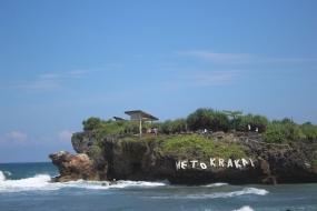 Krakal strand uit Yogyakarta