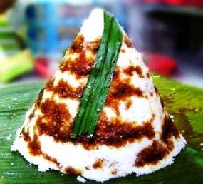 Dongkal-koek, typische koek van de mensen van Betawi