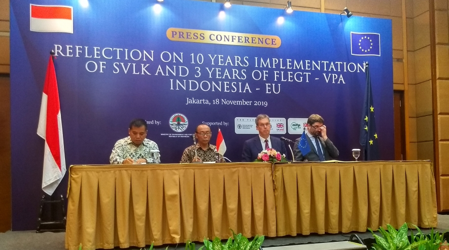 Indonesia – European Union Strengthen Wood Legality Verification System (SVLK ) in Forest Management Improvement