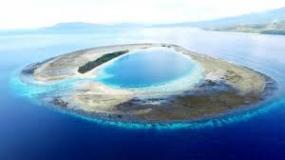 Pombo Eiland in Maluku