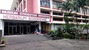 Etnobotanie Museum van de stad Bogor, West Java