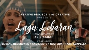 Maleis pop :  Lagu Lebaran door Alie Akbar ft Bujang Bedendang, Kamil Onte, Novi LIDA & Tazki Acapella