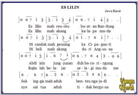 Traditioneel Liedjes uit De Provincie West Java