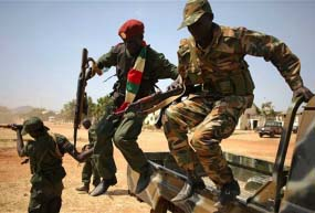 South Sudan president says army ready to take on rebels