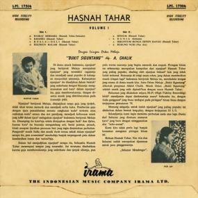Maleisische liedjes : Hasnah Tahar
