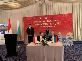 De Indonesische kamers van koophandel en industrie en Bulgarije hebben een overeenkomst ondertekend om de handel te stimuleren.
