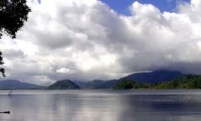 Moat Meer uit provincie Noord Sulawesi