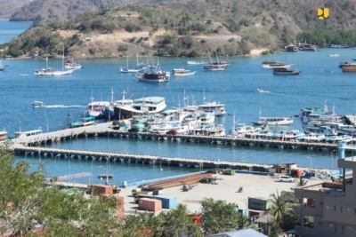 Labuan Bajo haven wordt een toerisme haven