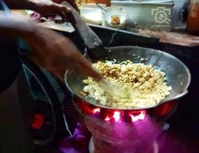 Nasi Goreng Anglo van de stad Kediri, Oost Java