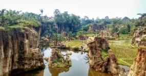 Koja Kliff in Tangerang, West Java