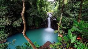 Aling Aling Waterfall uit regio Noord-Bali