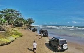 Bagedur-strand uit provincie Banten