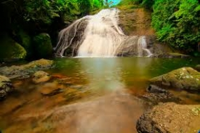Indo Ranuang Waterval in West Sulawesi