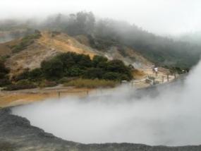 La colline Sikidang