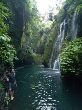 La cascade de Pamutuh