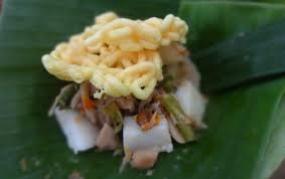 Sompil, un aliment typique de Trenggalek, la province de Java de l'Est