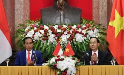Le président Jokowi a exprimé ses condoléances pour le décès du président du Vietnam