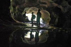 La Grotte de Ngalau Indah à Sumatera Ouest