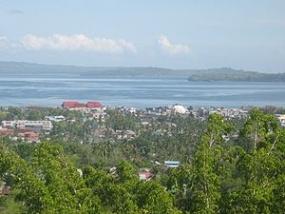 La Colline de Wantiro à Bau Bau, en province de Sulawesi du Sud-Est