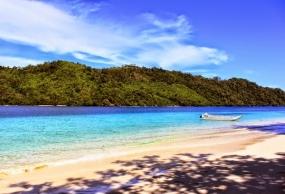 La baie de Kiluan dans la province de Lampung.