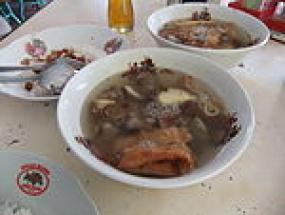 Timlo, un aliment typique de Solo