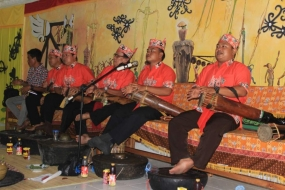 Le rituel du Nouvel An à Palangka Raya