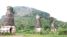 Colline Cemenung à Tulungagung, Java Est