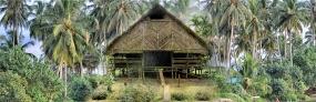 Madobak, un village touristique situé à l'ouest de Sumatra