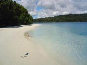 L'île de Peucang à Banten
