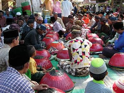 Die Nyadar Zeremonie in Sumenep, Madura