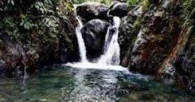 Der Wasserfall Curug Love