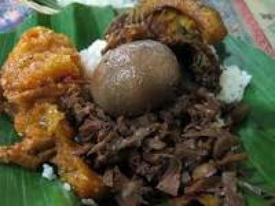 Yogyakarta zu reisen, um Gudeg