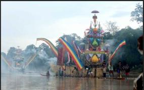 Die Baganduang Tradition aus Lubuk, Jambi