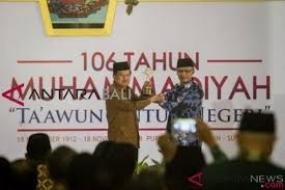 Muhammadiyah-Auszeichnung  für  indonesischen Vizepräsident