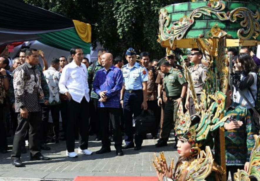 President Explains Plan of Jember Airport Expansion