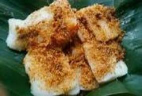 Ketan Bintul, ein Gericht aus Serang, Banten