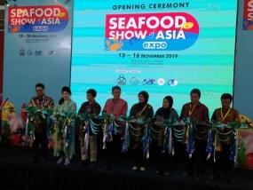 Pameran International Seafood Show of Asia.