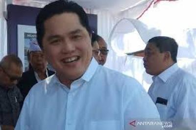 Lawan COVID-19, Erick Imbau Masyarakat Menjaga Indonesia Dari rumah