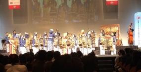 Penampilan Angklung Pukau Masyarakat Jepang