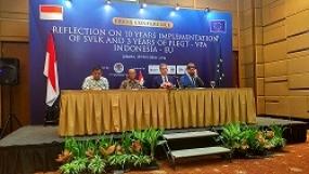 Indonesia - Uni Eropa Perkuat Sistem Verifikasi Legalitas Kayu Dalam Perbaikan Tata Kelola Hutan