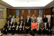 MILF代表団は、アチェの和解プロセスを研究するためにインドネシアを訪問