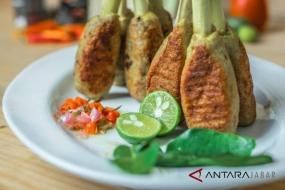 バリ島のSATE LILITの料理