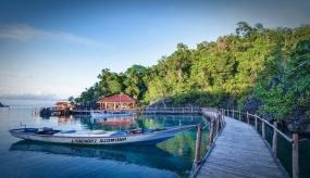 東南スラウェシ州のLABENGKI島