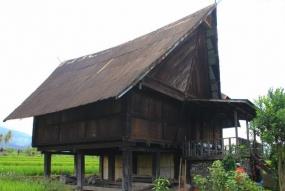 南スマトラ州のBesemah伝統的な家